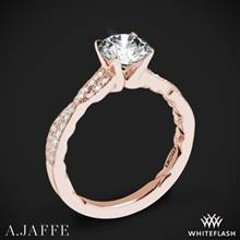 18k Rose Gold A. Jaffe ME2036Q Seasons of Love Diamond Engagement Ring | Whiteflash