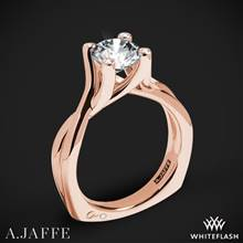 18k Rose Gold A. Jaffe MES463 Seasons of Love Solitaire Engagement Ring | Whiteflash