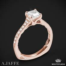 18k Rose Gold A. Jaffe MES753Q Seasons of Love Diamond Engagement Ring | Whiteflash