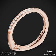 18k Rose Gold A. Jaffe MRS753Q Seasons of Love Diamond Wedding Ring | Whiteflash
