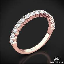18k Rose Gold Diamonds for an Eternity Half Diamond Wedding Ring | Whiteflash