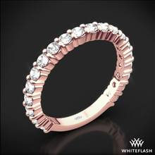 18k Rose Gold Diamonds for an Eternity Three Quarter Diamond Wedding Ring | Whiteflash