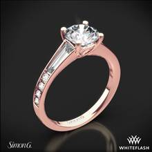 18k Rose Gold Simon G. MR2220 Duchess Diamond Engagement Ring | Whiteflash