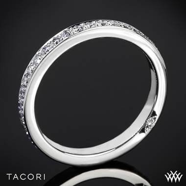 18k Rose Gold Tacori 2630BLGP Dantela Eternity Large Pave Diamond Wedding Ring