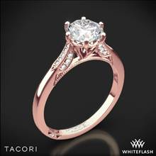 18k Rose Gold Tacori 2651RD Simply Tacori Diamond Engagement Ring | Whiteflash