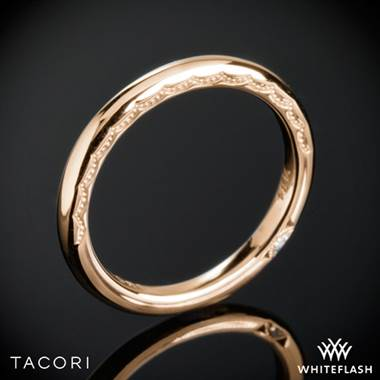 18k Rose Gold Tacori 300-2 Starlit Wedding Ring