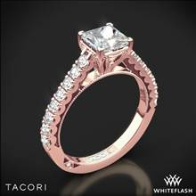 18k Rose Gold Tacori 35-2PR Clean Crescent Diamond Engagement Ring | Whiteflash