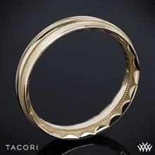 18k Rose Gold Tacori 76-5 Sculpted Crescent Mesh Wedding Ring | Whiteflash