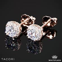 18k Rose Gold Tacori FE 643 5 Dantela Diamond Earrings to Hold 1ctw - Settings Only | Whiteflash