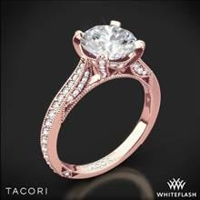 18k Rose Gold Tacori HT2627RD RoyalT Diamond Engagement Ring | Whiteflash
