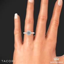 18k Rose Gold Tacori HT2676 RoyalT Diamond Engagement Ring | Whiteflash