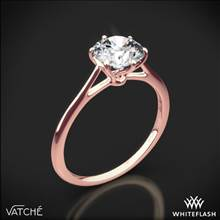 18k Rose Gold Vatche 1513 Felicity Solitaire Engagement Ring | Whiteflash