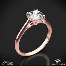 18k Rose Gold Vatche 1516 Inara Solitaire Engagement Ring | Whiteflash