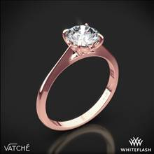 18k Rose Gold Vatche 1522 Bliss Solitaire Engagement Ring | Whiteflash