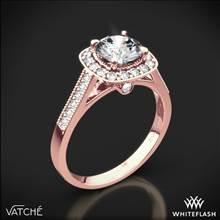 18k Rose Gold Vatche 180 Grace Diamond Engagement Ring | Whiteflash
