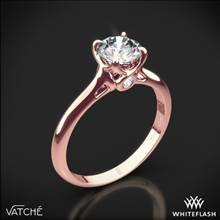 18k Rose Gold Vatche 194 Sisley Solitaire Engagement Ring | Whiteflash