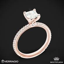 18k Rose Gold Verragio Tradition TR120P4 Diamond 4 Prong Engagement Ring | Whiteflash