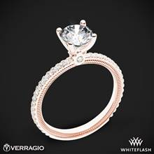 18k Rose Gold Verragio Tradition TR120R4 Diamond 4 Prong Engagement Ring | Whiteflash