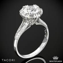 18k White Gold 2525RD 7 Simply Tacori Diamond Engagement Ring | Whiteflash