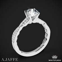 18k White Gold A. Jaffe ME2036Q Seasons of Love Diamond Engagement Ring | Whiteflash