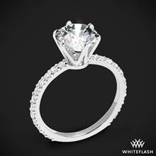 18k White Gold Cadence Diamond Engagement Ring | Whiteflash