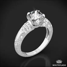 18k White Gold Champagne Diamond Engagement Ring | Whiteflash