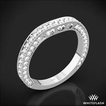 18k White Gold Coeur de Clara Ashley Diamond Wedding Ring | Whiteflash
