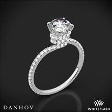 18k White Gold Danhov AE107 Abbraccio Diamond Engagement Ring | Whiteflash