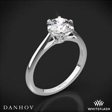 18k White Gold Danhov CL117 Classico Solitaire Engagement Ring | Whiteflash
