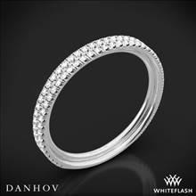 18k White Gold Danhov LB101-Q Per Lei Diamond Wedding Ring | Whiteflash