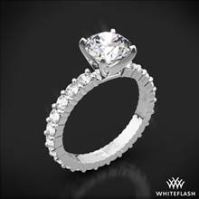 18k White Gold Diamonds for an Eternity Diamond Engagement Ring | Whiteflash