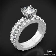 18k White Gold Diamonds for an Eternity Diamond Wedding Set | Whiteflash