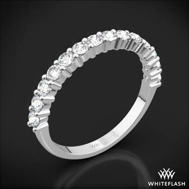 18k White Gold Diamonds for an Eternity Half Diamond Wedding Ring