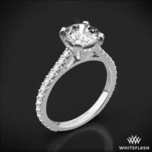 18k White Gold Elena Diamond Engagement Ring | Whiteflash