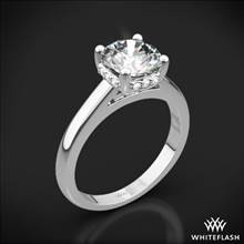 18k White Gold Full of Surprises Solitaire Engagement Ring | Whiteflash