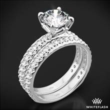 18k White Gold Harmony Diamond Wedding Set | Whiteflash
