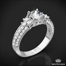 18k White Gold Imperial Diamond Engagement Ring | Whiteflash