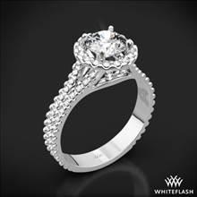 18k White Gold Park Avenue Diamond Engagement Ring | Whiteflash
