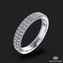 18k White Gold Park Avenue Diamond Wedding Ring | Whiteflash
