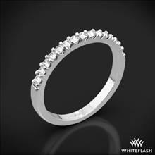18k White Gold Petite Diamond Wedding Ring | Whiteflash