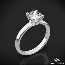 18k White Gold Promettre Solitaire Engagement Ring | Whiteflash