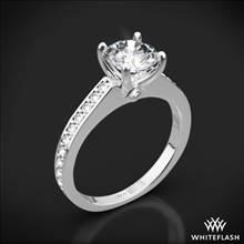 18k White Gold Scarlet Diamond Engagement Ring | Whiteflash