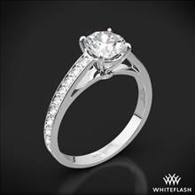 18k White Gold Serendipity Diamond Engagement Ring | Whiteflash