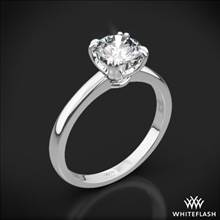 18k White Gold Sierra Solitaire Engagement Ring | Whiteflash