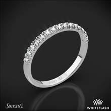 18k White Gold Simon G. MR2132 Passion Diamond Wedding Ring | Whiteflash