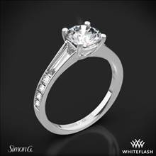 18k White Gold Simon G. MR2220 Duchess Diamond Engagement Ring | Whiteflash