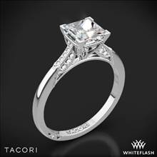 18k White Gold Tacori 2651PR Simply Tacori Diamond Engagement Ring | Whiteflash