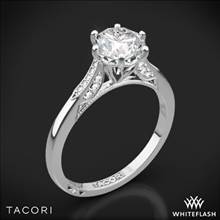 18k White Gold Tacori 2651RD Simply Tacori Diamond Engagement Ring | Whiteflash
