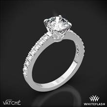 18k White Gold Vatche 1003 5th Ave Pave Diamond Engagement Ring | Whiteflash