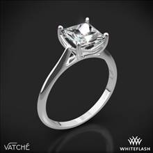 18k White Gold Vatche 1503 Alegria Solitaire Engagement Ring | Whiteflash